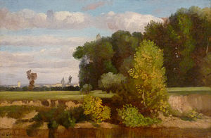 Louis-Nicolas Cabat - Landscape (untitled?)