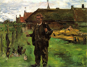 New Gallery (Kassel) - Paul Baum in Sluis by Lovis Corinth, (City art collection, Kassel)