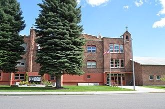 Loyola Sacred Heart High School - Image: Loyola Sacred Heart High School Missoula