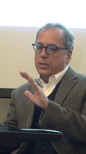 David Hajdu - David Hadju at Columbia University in 2015