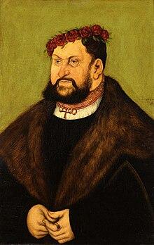 Lucas Cranach D. A.  - Kurfürst Johann der Beständige von Sachsen.jpg