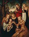 Lucas Cranach d.Ä. - Verlobung der Hl. Katharina (Anhaltische Gemäldegalerie).jpg