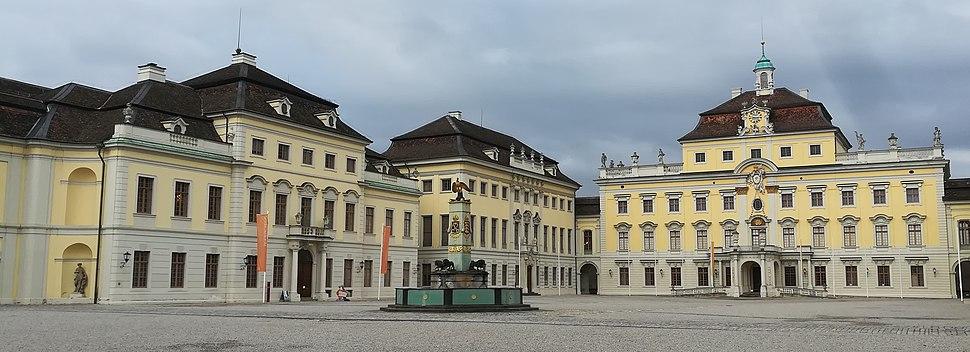 Ludwigsburg Palace, inner courtyard