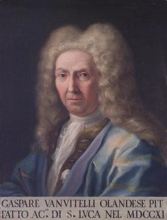 Caspar van Wittel - Portrait of van Wittel by his son Luigi