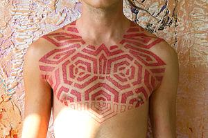 Tattoo artist Grisha Maslov 2010