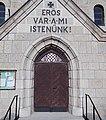 Lutheran Church, entry, 2019 Rákosliget.jpg