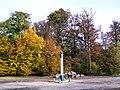 Luzarches (95) - La Chapelle (60) - Orry-la-Ville (60), Poteau Nibert dans la Forêt de Coye.jpg