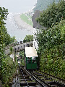 Lynton And Lynmouth Cliff Railway Wikipedia