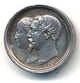 Médaille du baptême du Prince impérial en argent, Avers.jpg