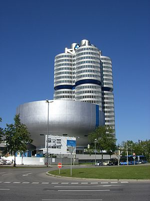 BMW Museum - The museum building