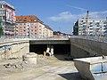 München - Mittlerer Ring - Leuchtenbergring (Tunnelmund).jpg