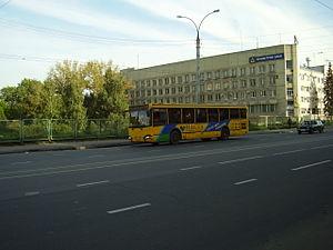 Lipetsk - Bus in Lipetsk, 2007