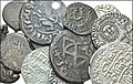 MEDIEVAL. Mixed. Miscellaneous AR and Includes; various denominations. Issues of Crusaders, Seljuks of Rum, Cilician Armenia, Georgia among others . Fine to VF condition. LOT SOLD AS IS, NO RETURNS. Thirteen (13) coins in lot.jpg