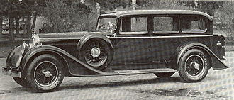 Austro-Daimler - Austro-Daimler ADR 8 Pullman (1932).
