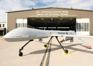 Texas Air National Guard - Image: MQ 1B Predator 147th Reconnaissance Wing Ellington Field Texas