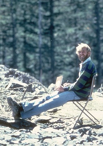 David A. Johnston - Johnston, 13 hours before his death at the 1980 eruption of Mount St. Helens