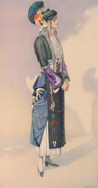 Roumlouki - Image: Macedonia Greek Costume Roumlouki 2