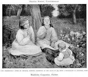 Madeleine Carpentier - Les Chandelles, 1896