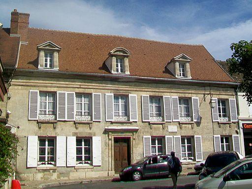 Magny-en-Vexin (95), maison de J.B. Santerre, 33 place d'Armes