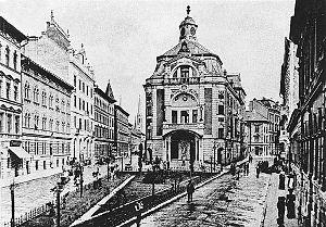 Magyar Theatre - The Magyar Theatre in 1897