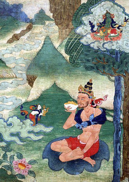 Les 6 yogas de Naropa 427px-Mahasiddha_Naropa