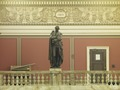 Main Reading Room. Portrait statue of Gibbon along the balustrade. Library of Congress Thomas Jefferson Building, Washington, D.C. LCCN2011648109.tif