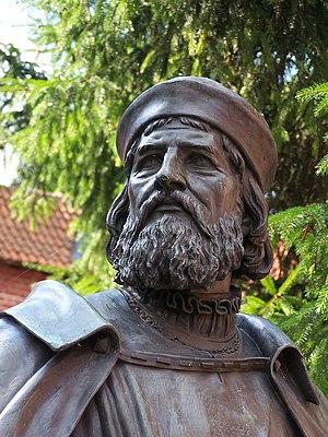 Winrich von Kniprode - Statue of Winrich von Kniprode at Malbork Castle.