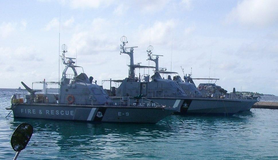 Maldives-vaixells de bombers