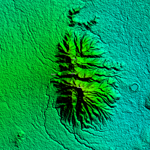 Malepunyo Mountain Range - Malepunyo Range Relief Map on 1 arc second/30-meter resolution