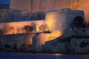 Tenaille - St. Andrew's Tenaille in Valletta