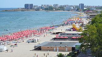 Mamaia - Mamaia Beach (in September 2013)