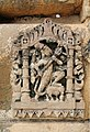 Man with a mace, Neelkanth temple, Alwar district, Rajasthan, India.jpg