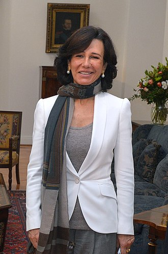 Ana Botín - Ana Patricia Botín within the framework of the UN Women Summit held in Chile in 2015