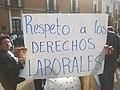 Manifestación de trabajadores en el Día Internacional del Trabajo en Tlaxcala 2016.jpg