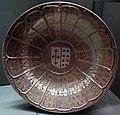 Manises, piatto con armoriale, 1480-1500 ca. 3.JPG