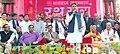 Manish Tewari addressing the gathering on the occasion of begin the Jagannath Rath Yatra, at Durga Mandir, Ludhiana. The Joint Editor of Punjab Kesari Group, Shri Avinash Chopra, the MLA.jpg