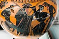 Manner of the Antimenes Painter - ABV 278 35 - man in chariot and gods - Dionysos wit satyrs and maenad - Firenze MAN 3844 - 04.jpg
