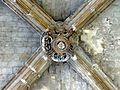 Mantes-la-Jolie (78), église Saint-Maclou, clé de voûte 2.JPG