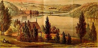 Spuyten Duyvil Creek - 1842 view