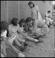 Manzanar Relocation Center, Manzanar, California. An elementary school with voluntary attendance ha . . . - NARA - 537962.tif