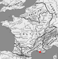 Map Gallia Tribes Towns with Massilia.png