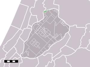 Nieuwebrug, North Holland - Image: Map NL Haarlemmermeer Nieuwebrug
