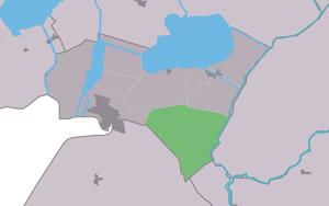 Bantega - Image: Map NL Lemsterlân Bantegea