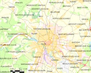 第戎市镇地图