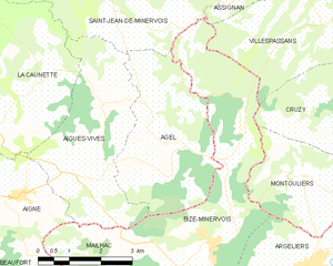 Agel - Map