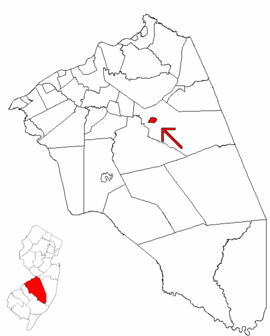 Map of Burlington County highlighting Pemberton.png