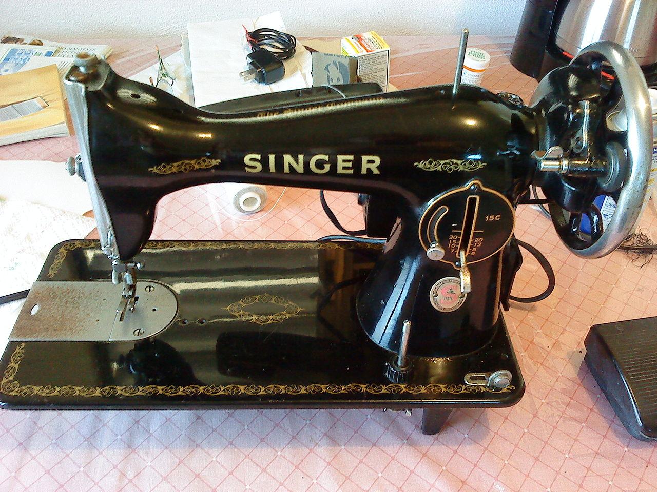 File:Maquina de coser singer la negrita 01.JPG - Wikimedia
