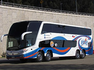 Volvo B11R - Eme Bus Marcopolo Paradiso G7 1800 DD-bodied B430R 8x2 in Chile