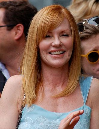 Marg Helgenberger - Helgenberger at a ceremony for Jerry Bruckheimer to receive a star on the Hollywood Walk of Fame in June 2013