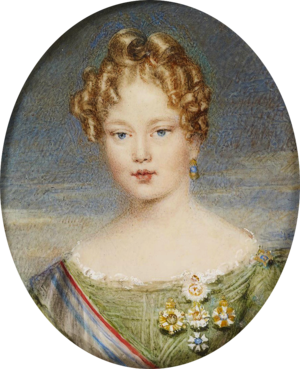 Duke of Porto - Image: Maria II 1833
